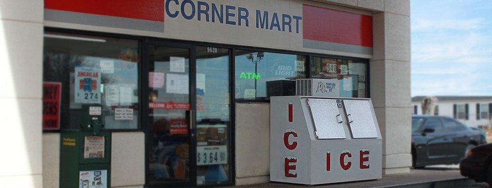 Corner Mart ICE Box Slide